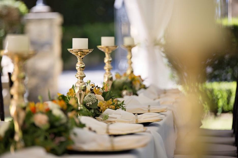 Small wedding gathering